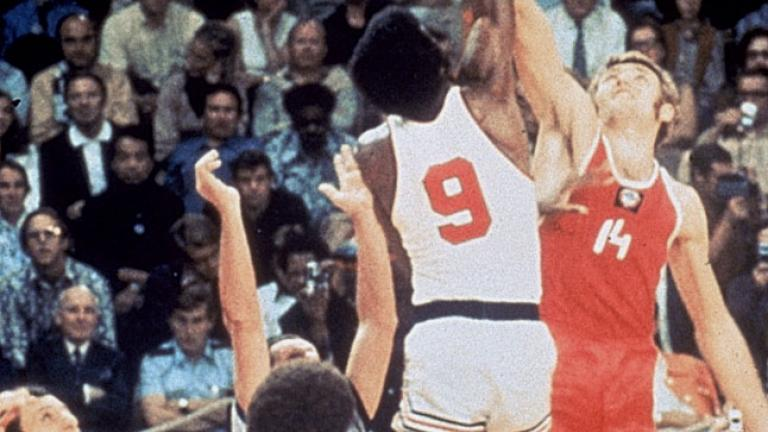 1972: Olympic basketball gold medal game