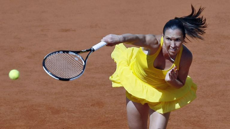 Jankovic gives it her all