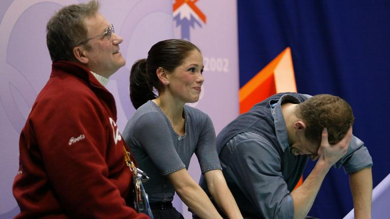 2002 Olympic figure skating pairs scandal