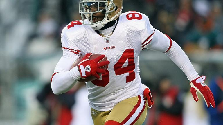 49ers WR Josh Morgan, third season
