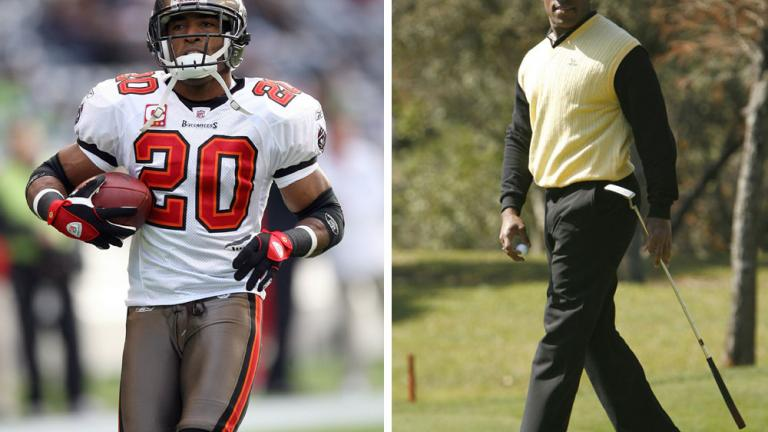 "<div align=""center""><span style=""font-size: 16pt;"">Ronde Barber</span> <br/> <span style=""font-size: 13pt;"">NFL All-Pro DB: Tampa Bay Buccaneers</span></div>"