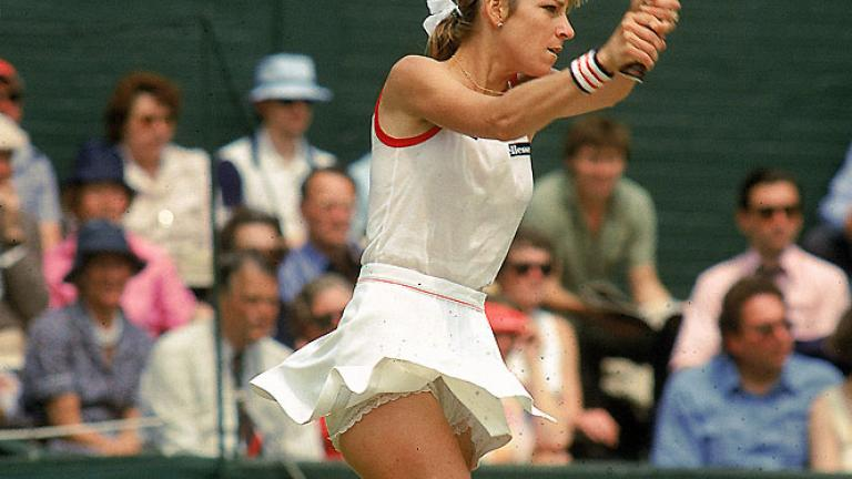 "<div align=""center"">Answer: Chris Evert (1973, 1978-1980, 1982, 1984-1985), but she also won in 1974, 1976, 1981. Five of those runner-up finishes came against long-time rival Martina Navratilova.</div>"