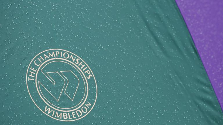 "<div align=""center""><font color=""red"">Which two champions hold the record for most total titles (singles, doubles and mixed doubles combined) at Wimbledon?</font></div>"