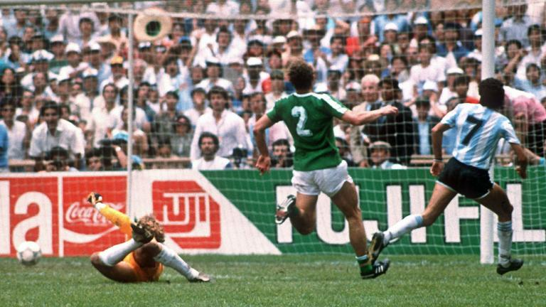 1986: Argentina 3, West Germany 2
