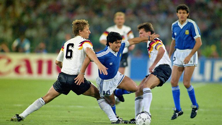 1990: West Germany 1, Argentina 0