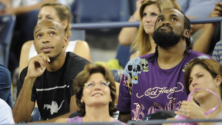 Thierry Henry and Ronny Turiaf