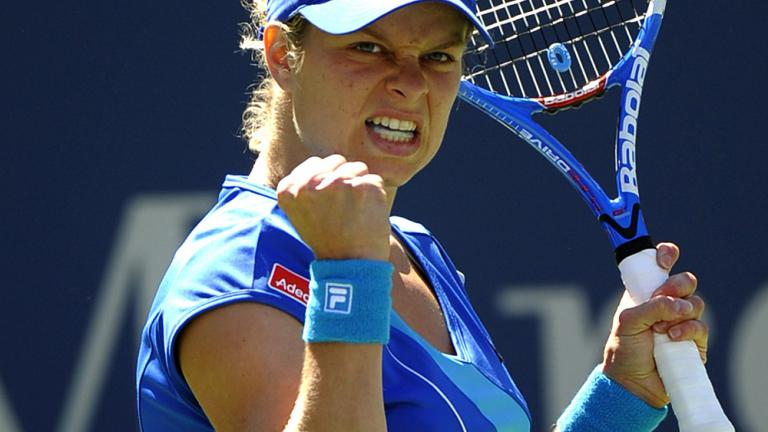 Clijsters stays hot
