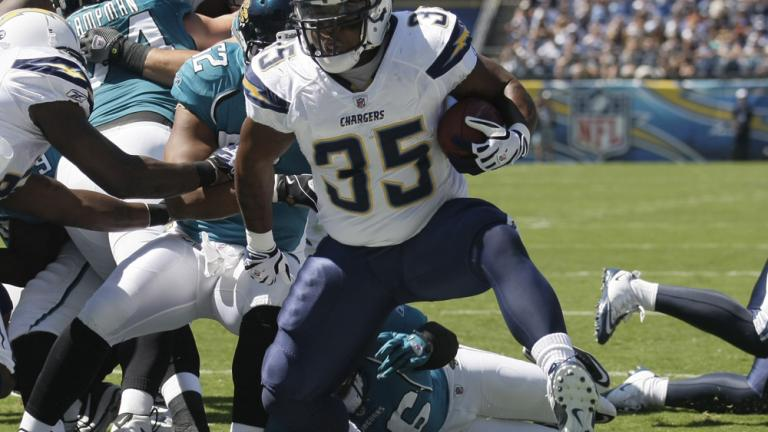 Chargers 38, Jaguars 13