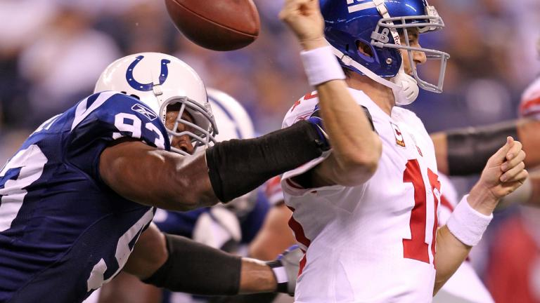Colts 38, Giants 14