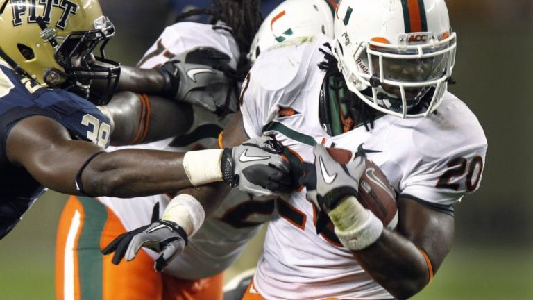 No. 19 Miami 31, Pittsburgh 3