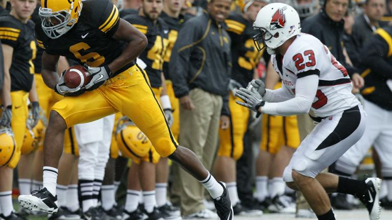 No. 18 Iowa 45, Ball State 0