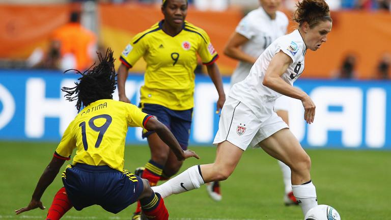 Group C: United States 3, Colombia 0