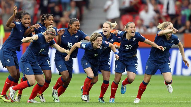 Quarterfinals: France 4, England 3 (penalty shoot-out)