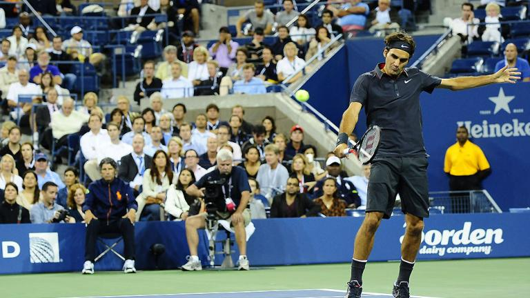 All eyes on Federer