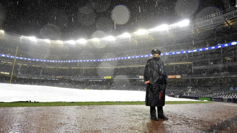 ALDS Game 1: Yankees, Tigers postponed