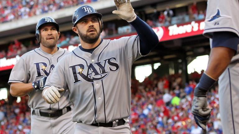 ALDS Game 1: Rays 9, Rangers 0