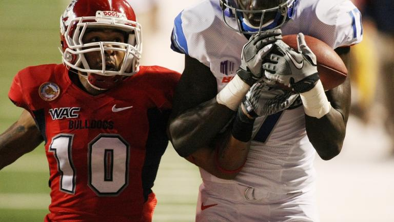 No. 5 Boise State 57, Fresno State 7