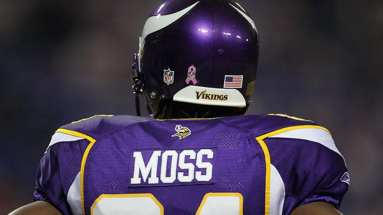 Week 5: Childress trades a third rounder for Moss