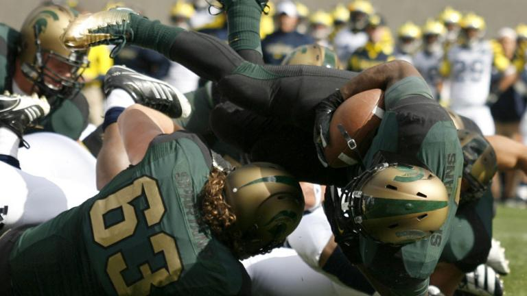 No. 23 Michigan State 28, No. 11 Michigan 14