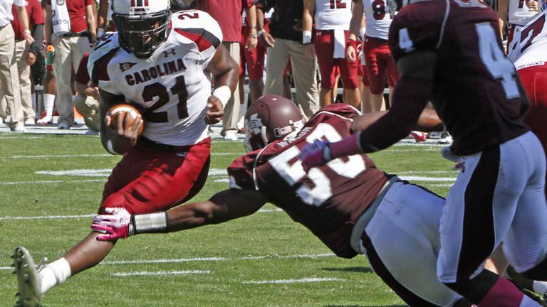 No. 15 South Carolina 14, Mississippi State 12