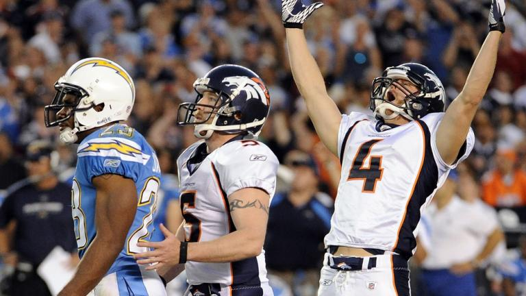 Broncos 16, Chargers 13 (OT)