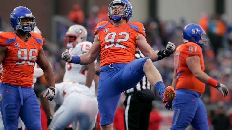 No. 9 Boise State 45, New Mexico 0