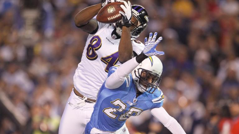 Chargers 34, Ravens 14