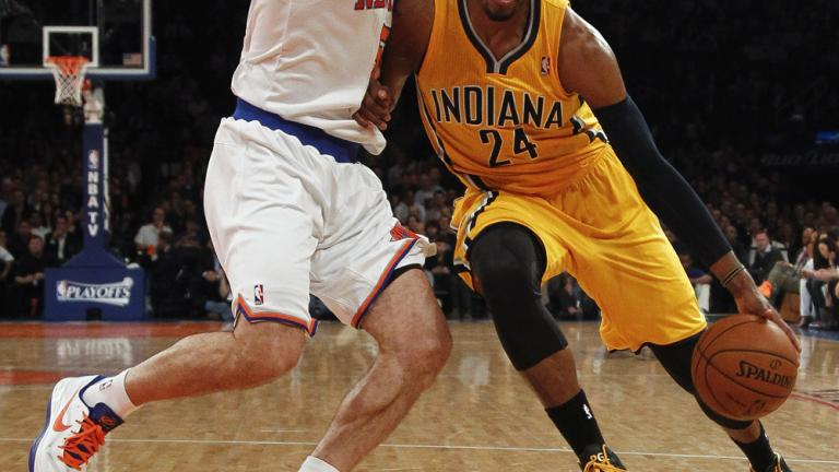 Game 2: Knicks 105, Pacers 79