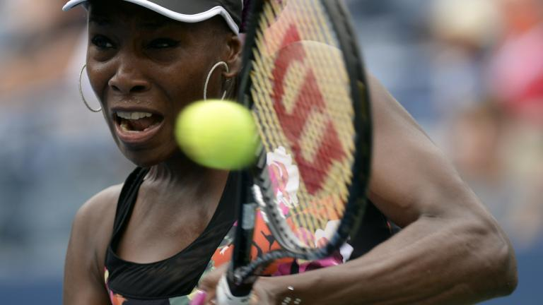Venus takes it in two