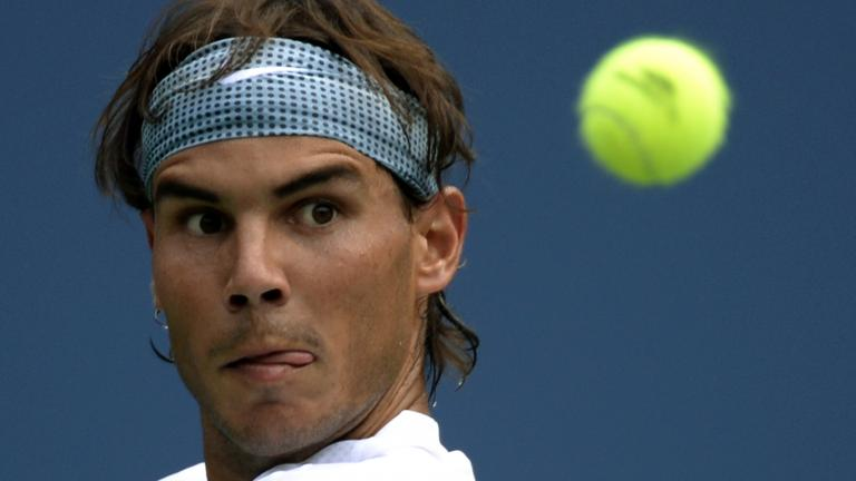Nadal advances