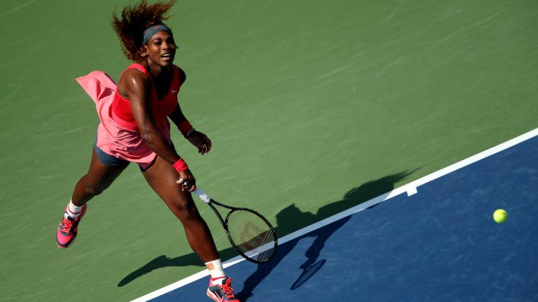 Serena cruises past second round