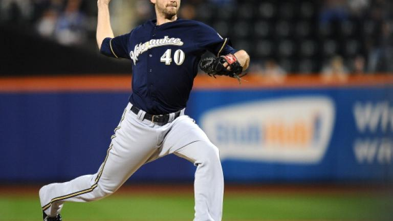 Johnny Hellweg, Milwaukee Brewers