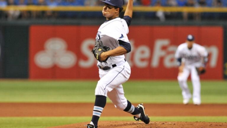 Chris Archer, Tampa Bay Rays, 25
