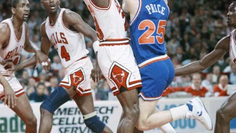 1989 Eastern quarterfinals: Chicago Bulls defeat Cleveland Cavaliers, 3-2