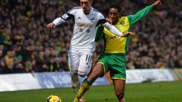 Norwich City 1, Swansea City 1