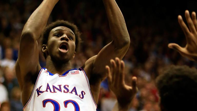 2. Andrew Wiggins, Kansas