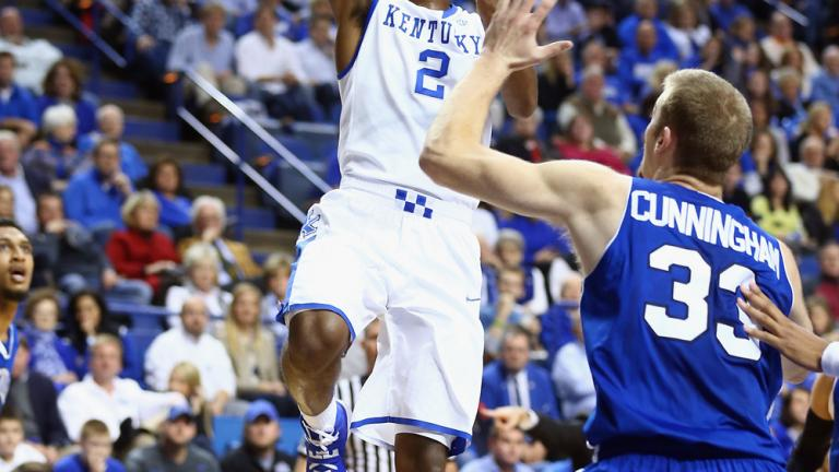 37. Aaron Harrison, Kentucky