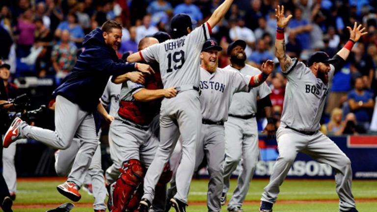ALDS Game 4: Boston 3, Tampa Bay 1