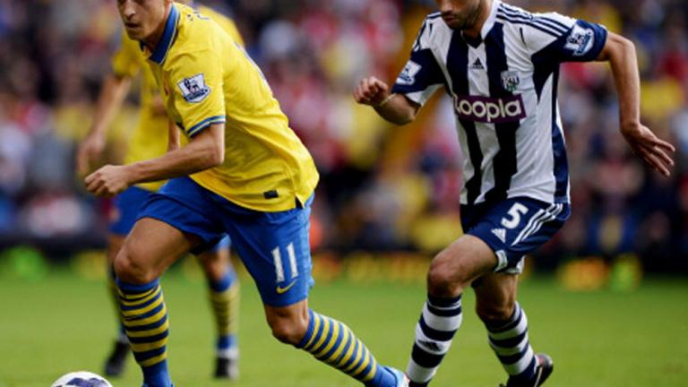 West Bromich Albion 1, Arsenal 1