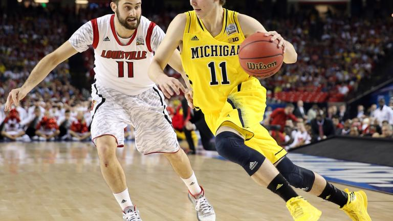 40. Nik Stauskas, Michigan