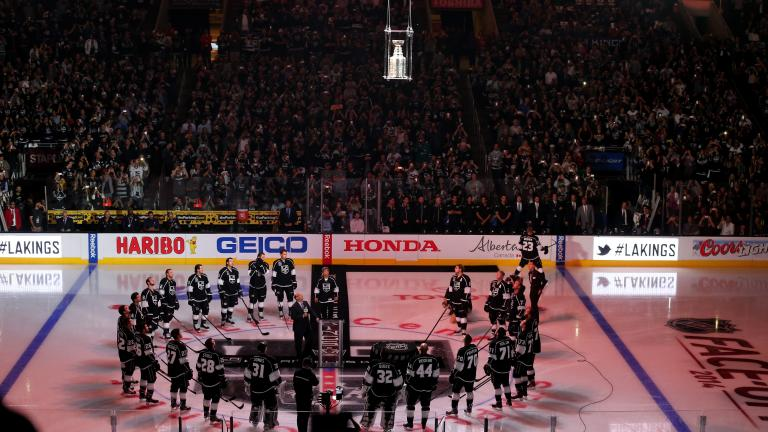 Lord Stanley takes the ice