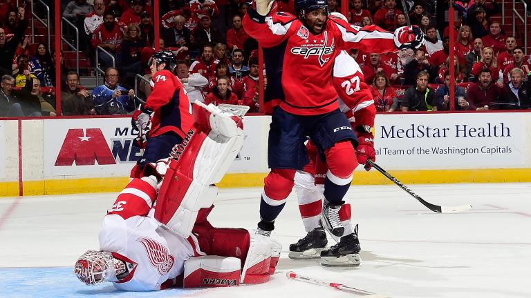 Red Wings 4, Capitals 2