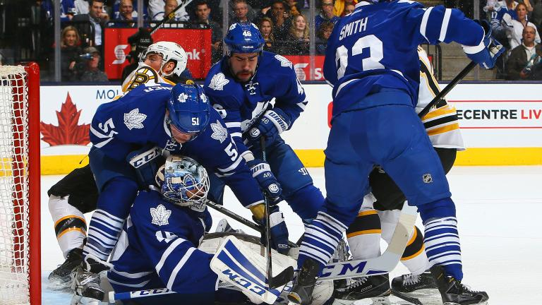 Maple Leafs 6, Bruins 1