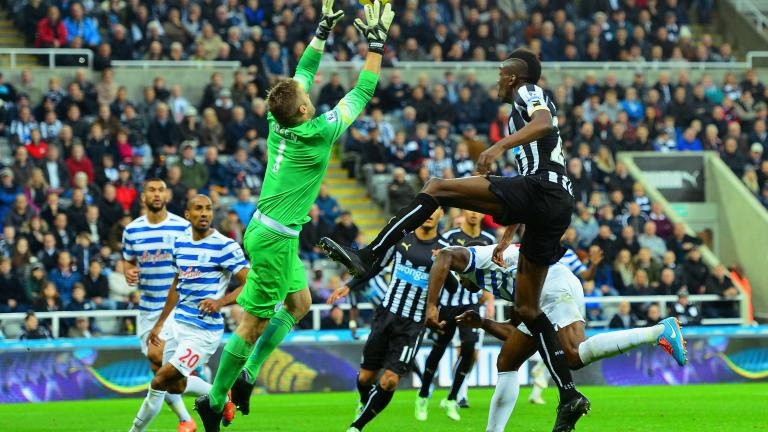 Newcastle United 1, QPR 0