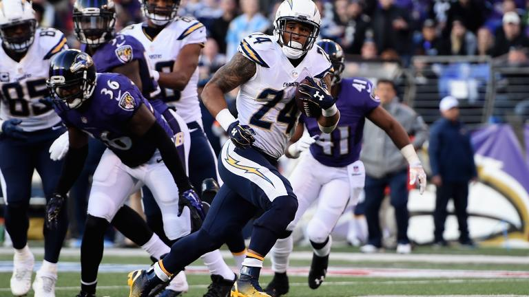 Chargers 34, Ravens 33