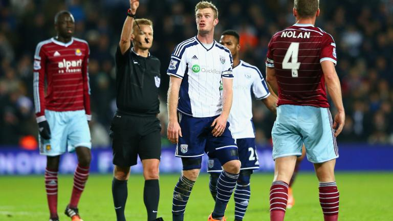 West Ham United 2, West Bromwich Albion 1