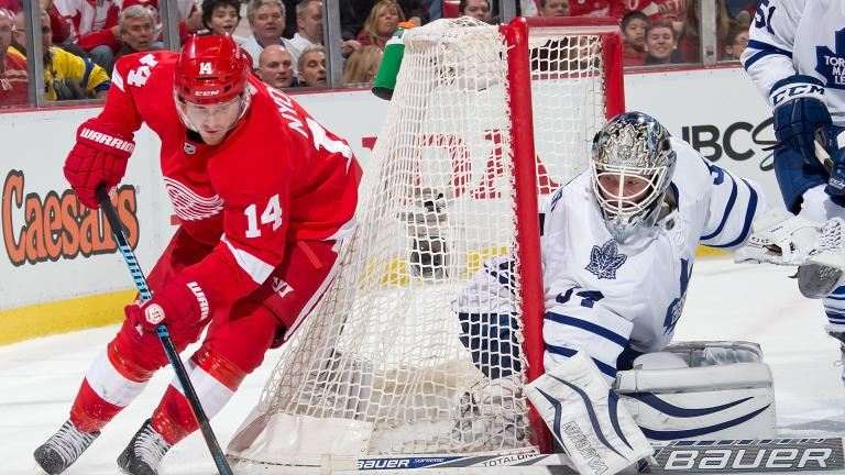 Maple Leafs 2, Red Wings 1 (SO)