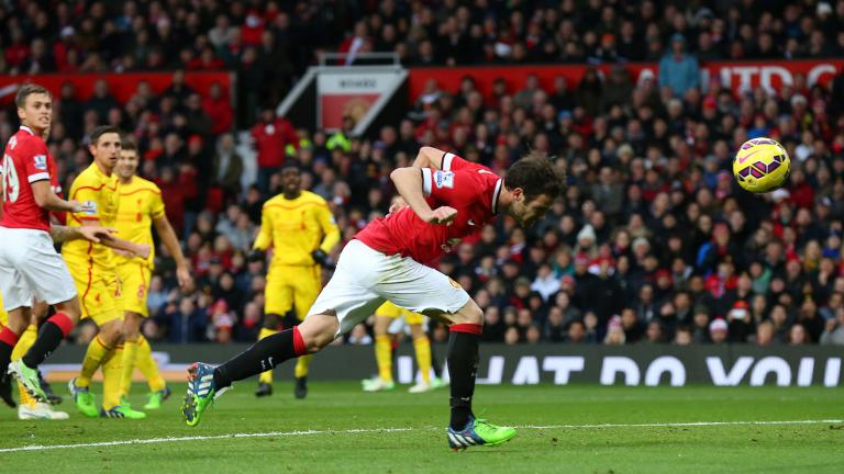 Manchester United 3, Liverpool 0
