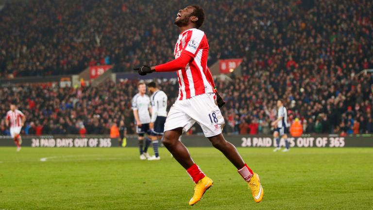 Stoke City 2, West Bromwich Albion 0