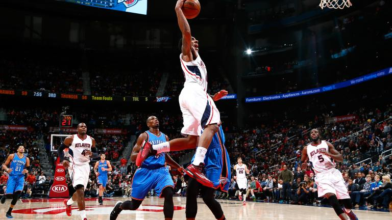 Jeff Teague helps Hawks to 15th straight